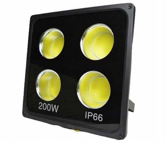 Halogen LED naświetlacz COB 200W zewnętrzny HURT-DETAL