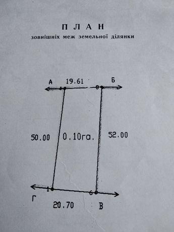 Продам участок 10 соток под застройку, Барышевский р-н