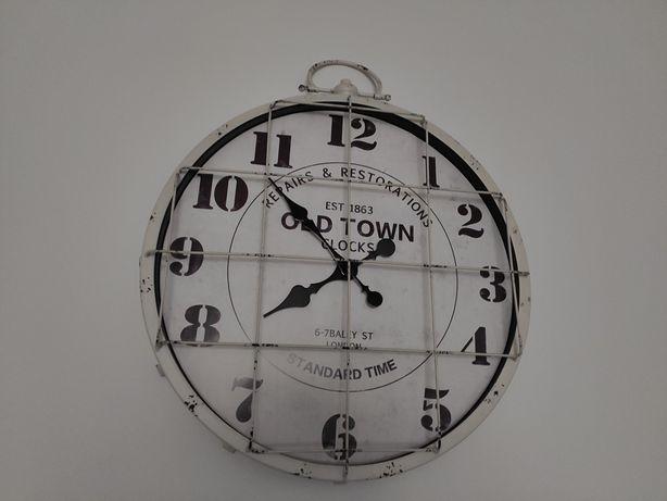 Zegar zegarek na ścianę London Old Town klasyczny stylowy design