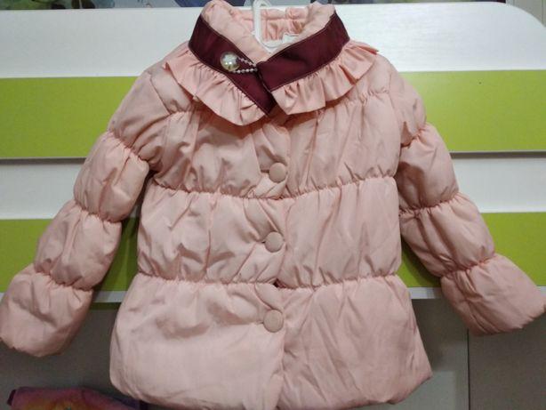 Курточка для дівчинки 98-104