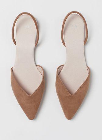 Buty z odkrytą piętą H&M rozmiar 38