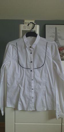 biała koszula z miss reporter CENA DO NEGOCJACJI
