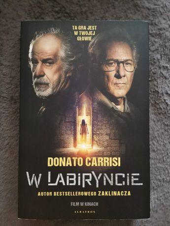 Książka W LABIRYNCIE Donato Carrisi