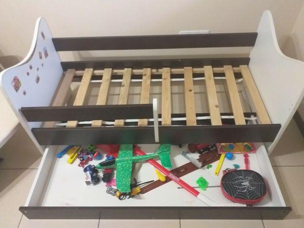 Ліжко дитяче 140×70 з матрасом