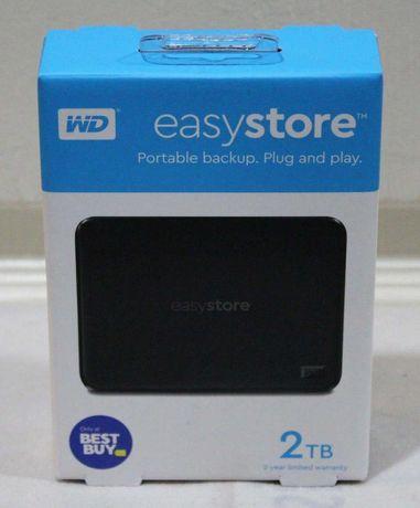 USB жесткий диск 2TB Western Digital easystore НОВЫЕ
