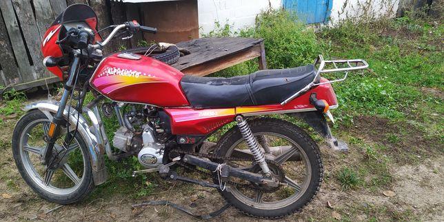 Продам мотоцикл альфа 125