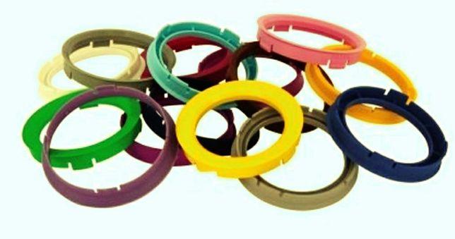 Центровочные кольца,центруючі кільця, адаптори проставки болти гайки