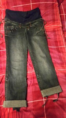 Spodnie ciążowe jeans r.S