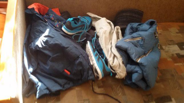 Ubrania w zestawie dla chlopaka w roz.140