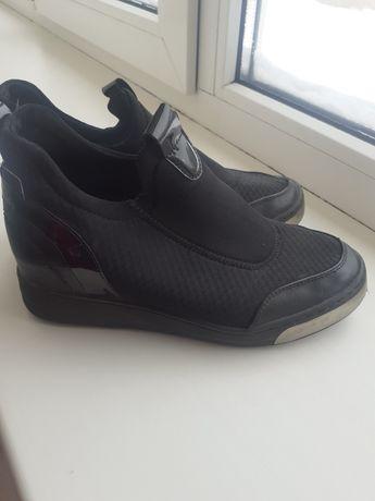 Туфли слипоны мокасины 37р