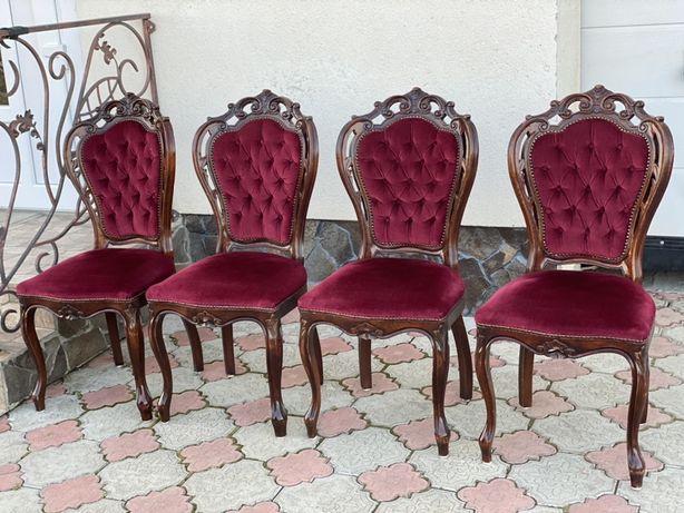 4 крісла барокко Rococo Стільці Стулья кресла барокко меблі з європи
