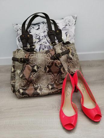 Torebka damska Jessica Simpson torebka a la wężowa skóra