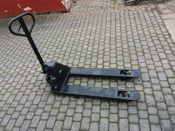 Ręczny wózek widłowy firmy Bavaria. Paleciak.
