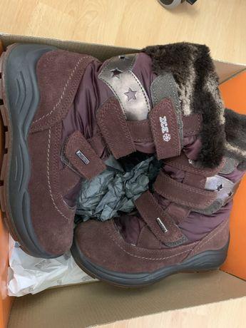 Ботиночки зимние на девочку 32 размер