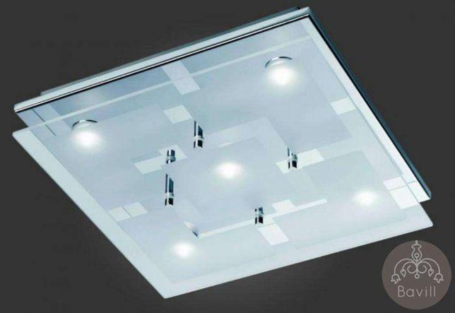 Plafon lampa sufitowa LED Chiron Paul Neuhaus 6920-17 chrom szkło