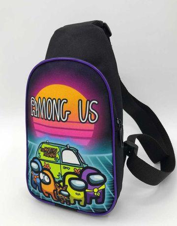 Детская сумка через плечо Амон Ас, Майнкрафт, Влад А4