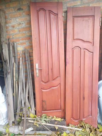 Двери деревянные 2.40/1.70