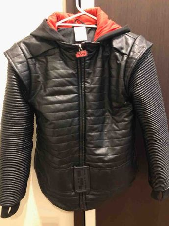куртка кожа подростковая (новая)