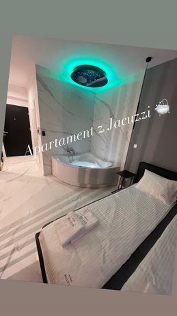 Apartament Deluxe z jacuzzi