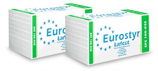 Styropian EPS 100 - 035 Podłoga - Dach (DOSTAWA)