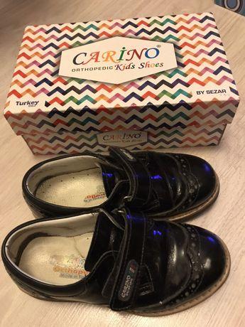Кожаные туфли 28 размер для мальчика