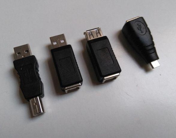 Adaptador, conversor, USB micro, M F, impressora scanner câmara