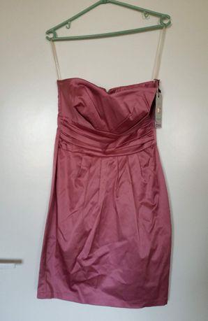 Nowa różowa sukienka, rozm. 40