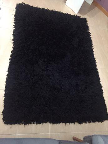 Carpete Pelo Longo cor Preto