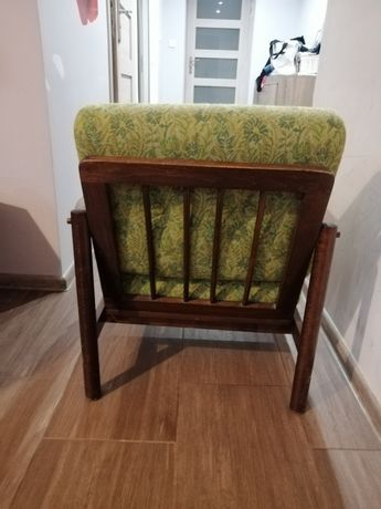 Fotele PRL klasyczne piękne i wygodne. Fotel rarytas