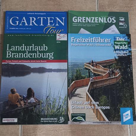 Niemiecki czasopisma 4 szt
