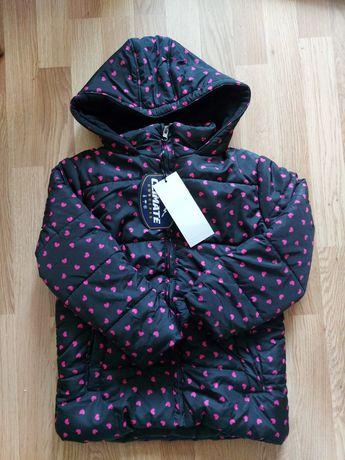 Новая демисезонная куртка 7-8лет