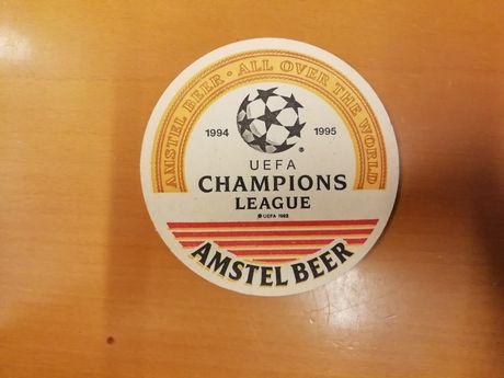 Base para copos - Champions League e Marcas de Whisky