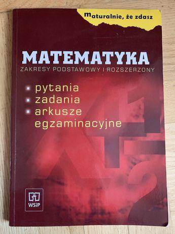 REPETYTORIUM MATURALNE Matematyka . Zakres podstawowy i rozszerzony