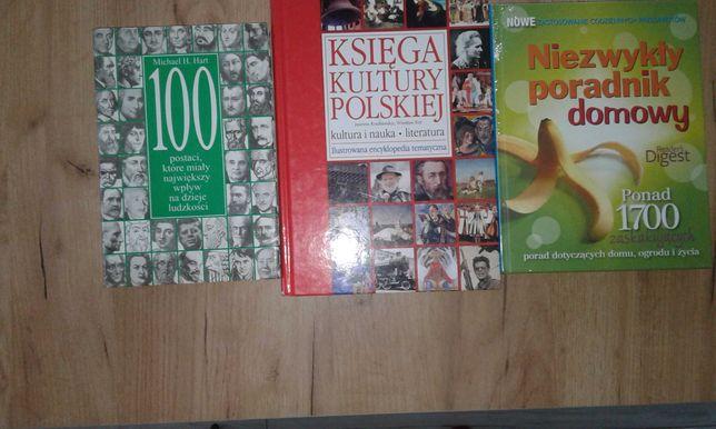 3 książki tematyczne