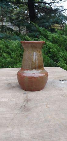 Piękny zabytkowy wazon ceramika (50)