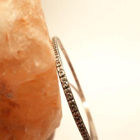 srebrna bransoletka Resovia