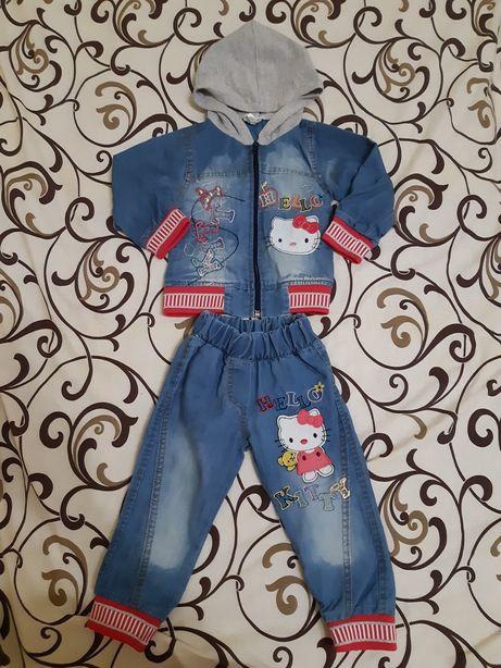 Легкий джинсовый костюмчик