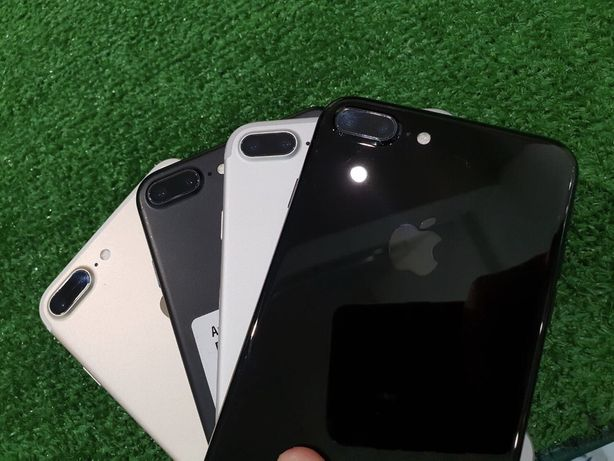 Б/у Магазин iPhone 7 Plus + 128 256 Black Matt silver gold