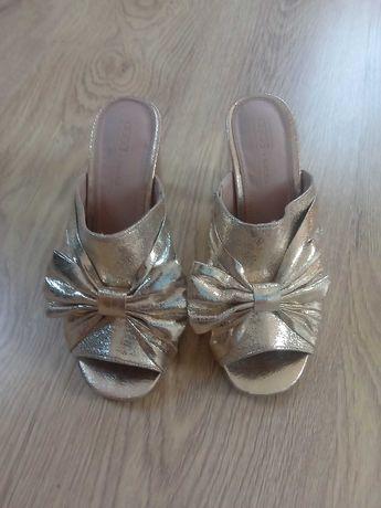 buty klapki sandały asos venezia zara złote