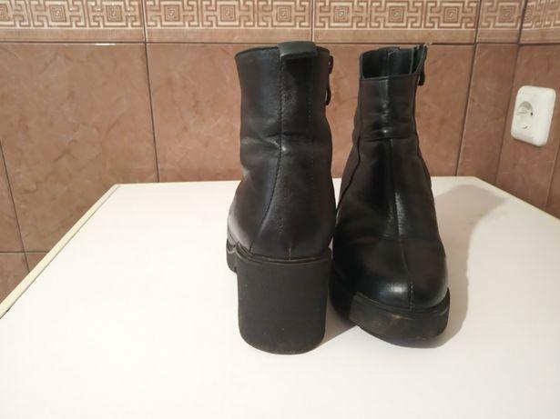 Шкіряні черевики, чобітки, чоботи, ботинки зима