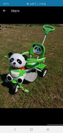 Rowerek 3 kołowy panda