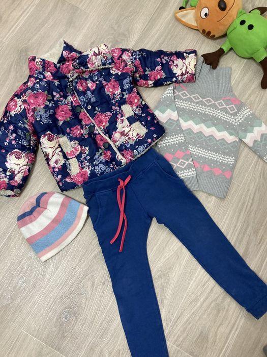 Комплект для девочки. Куртка, штаны, кофта Днепр - изображение 1