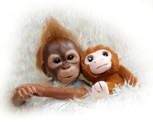 Nowa Lalka Monkey NPK 52 cm Reborn wys. PL