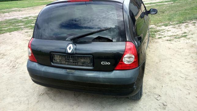 Clio II Lift NV676 zderzak tyl tylny i inne