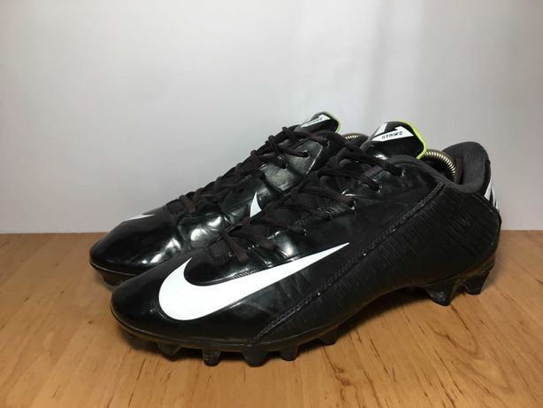 Бутсы шиповки Nike Vapor Strike 4 черные легкие футбольные 45 Original