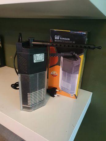 Super Filtr Wewnętrzny Narożny Do Akwarium SunSun JP-093