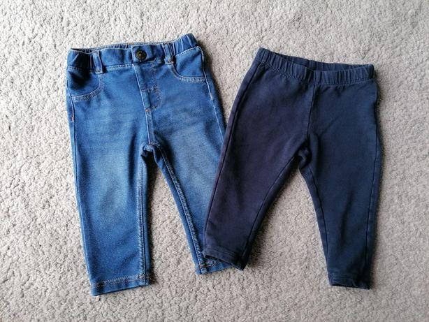 Spodnie leginsy H&m Fagottino 74