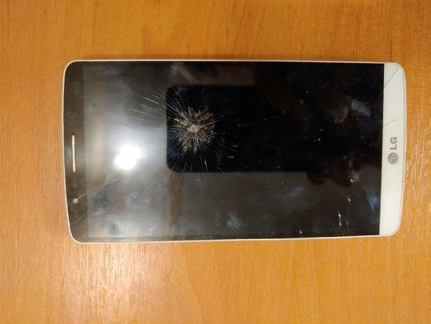 Смартфон lg g3 d855, мобильный телефон неисправный, 50 грн