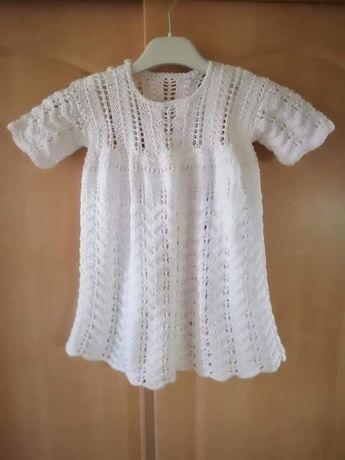 Sukienka bawełniana - rękodzieło
