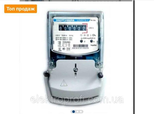 Счетчик электроэнергии однофазный ЦЭ6807Б-U К 1 220В 5-60А М6Ш6